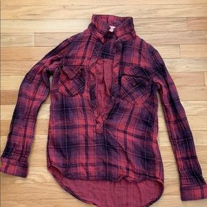cloth & stone Tops - Fall Flannel